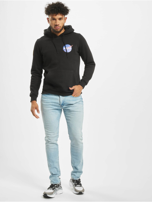 Mister Tee Sweat capuche Nasa Insignia Flag noir