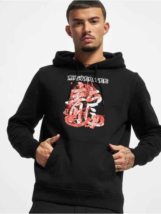 Mister Tee Sweat capuche Dragon noir