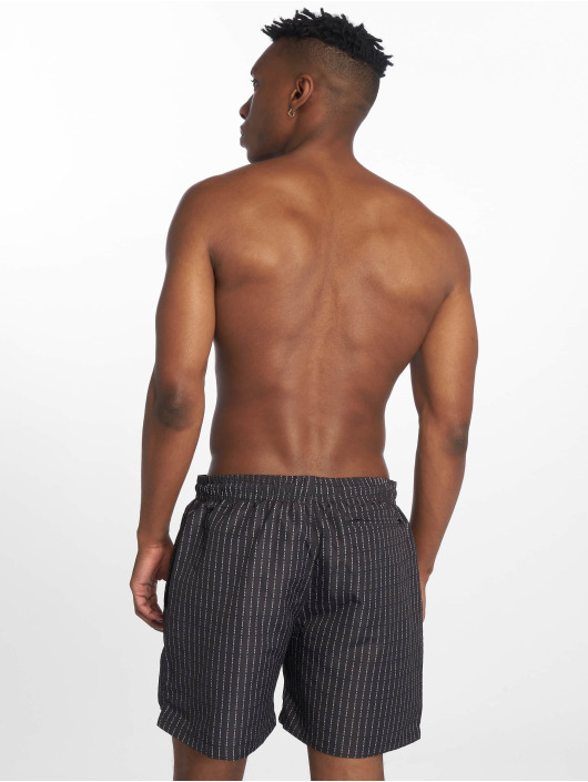 Mister Tee Swim shorts Fuckyou black
