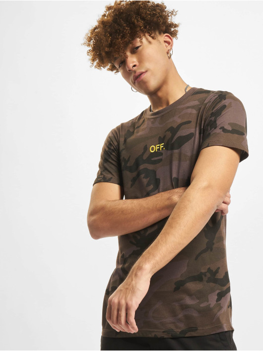 Mister Tee T-paidat Off Emb camouflage