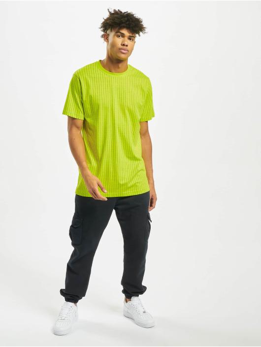 Mister Tee T-paidat Fuckyou keltainen
