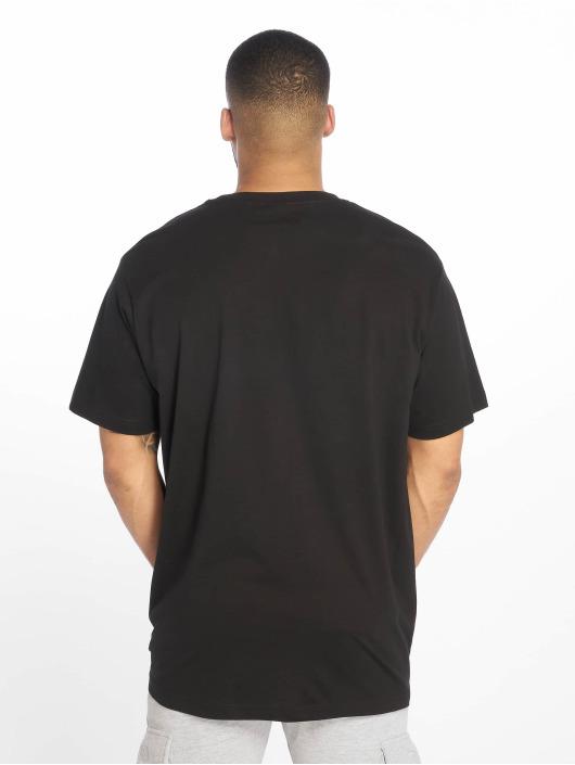 Mister Tee T-paidat Bonjour musta
