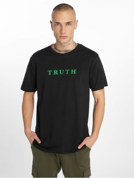 Mister Tee T-paidat Truth musta