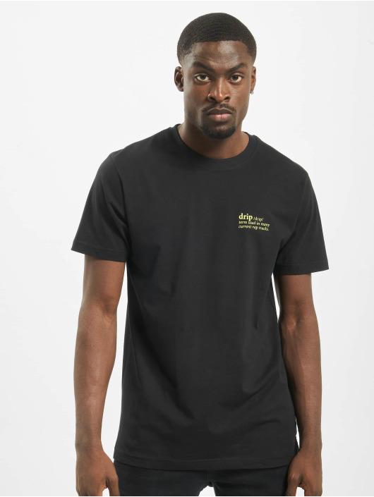 Mister Tee T-paidat Drip musta