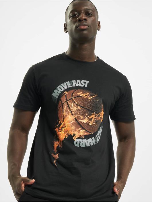 Mister Tee T-paidat Burning Bball musta