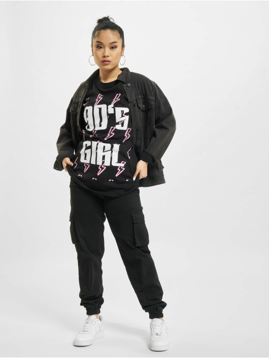 Mister Tee T-paidat 90ies Girl musta