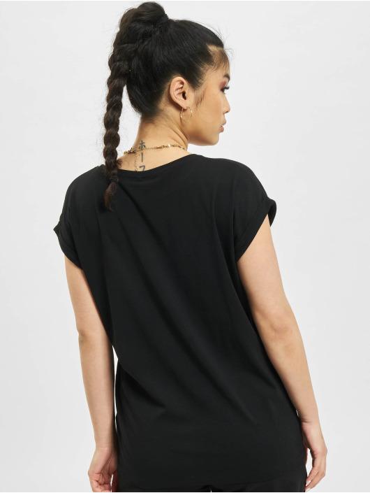 Mister Tee T-paidat Ladies L´oiseau De Paradis musta