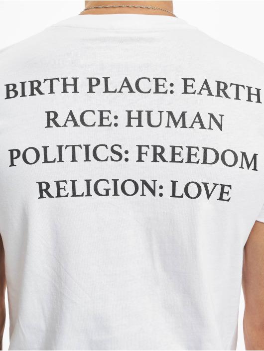 Mister Tee T-paidat Heart valkoinen