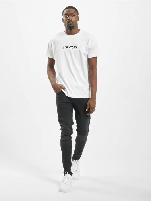 Mister Tee T-paidat Downtown valkoinen