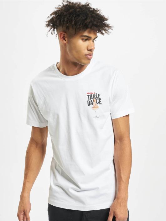 Mister Tee T-paidat Tabledance valkoinen