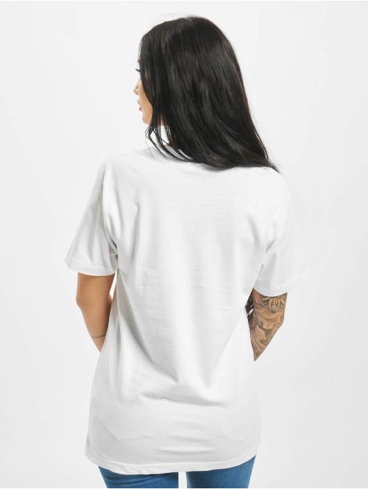 Mister Tee T-paidat Planet Earth valkoinen
