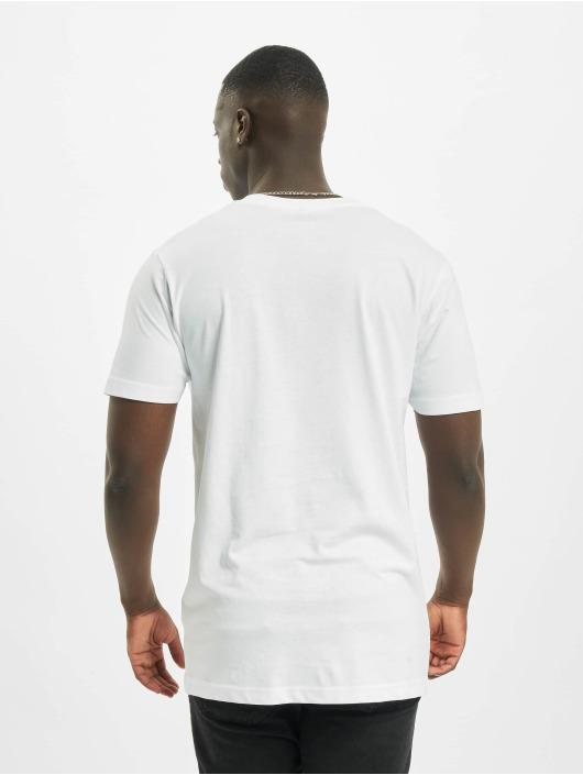 Mister Tee T-paidat Stay Home valkoinen