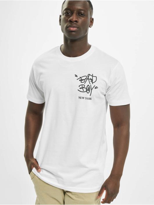 Mister Tee T-paidat Bad Boy New York valkoinen