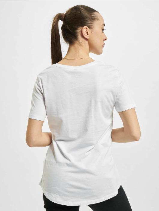 Mister Tee T-paidat One Line Fit valkoinen