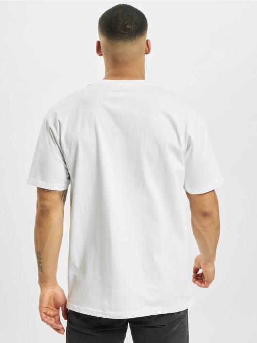 Mister Tee T-paidat Cure Oversize valkoinen