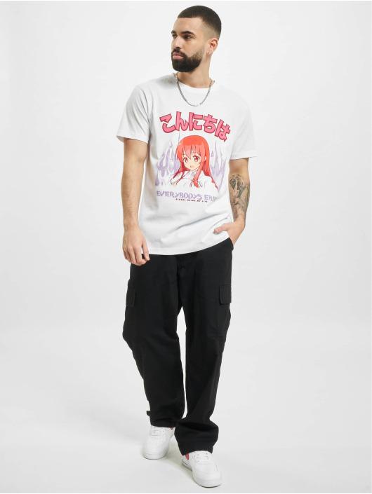 Mister Tee T-paidat Everybodys Enemy valkoinen