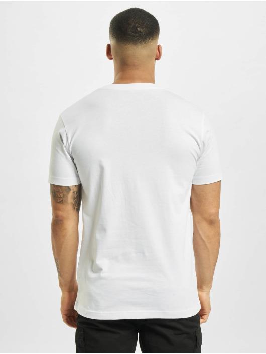 Mister Tee T-paidat New York Wording valkoinen