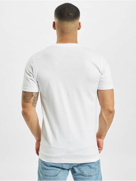Mister Tee T-paidat Ufo Pizza valkoinen