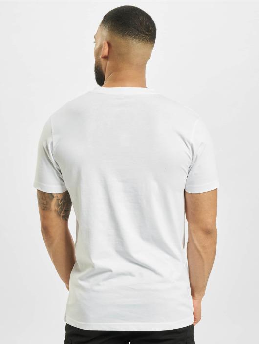 Mister Tee T-paidat Good Life valkoinen