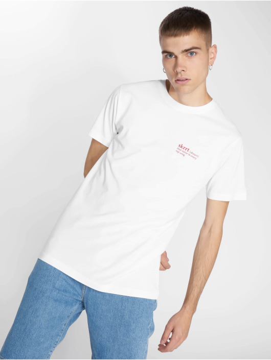 Mister Tee T-shirt That Noise bianco