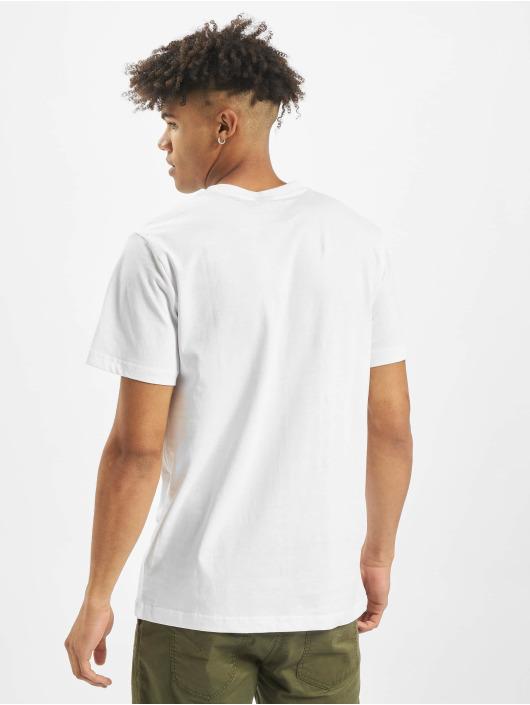 Mister Tee T-shirt Fuck Off Split bianco