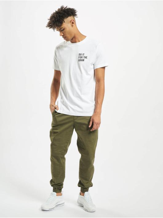 Mister Tee T-shirt Do It For The Gram Likes bianco