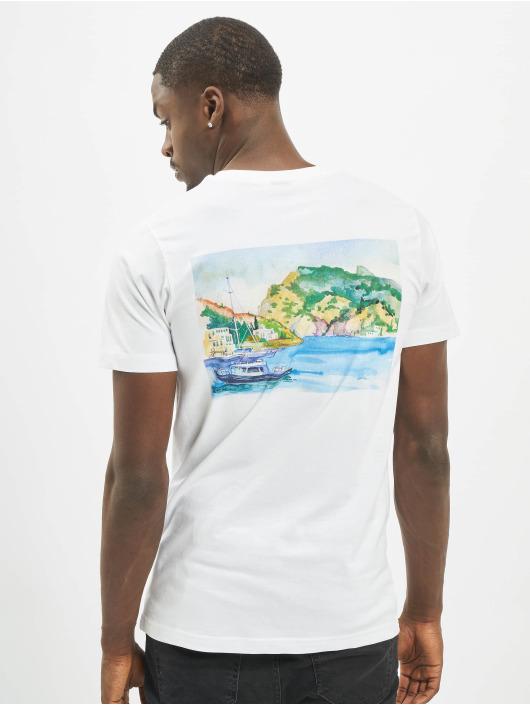 Mister Tee T-shirt Cozy bianco