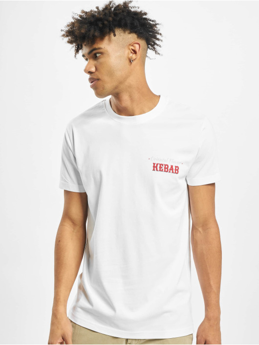 Mister Tee T-shirt Create Your Kebab bianco