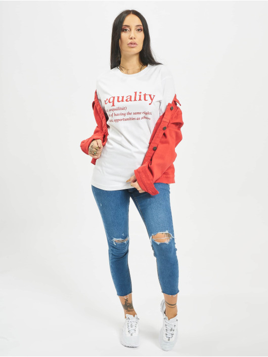 Mister Tee T-shirt Equality Definition bianco