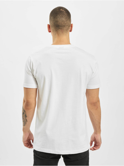 Mister Tee T-shirt Game Over And Over bianco