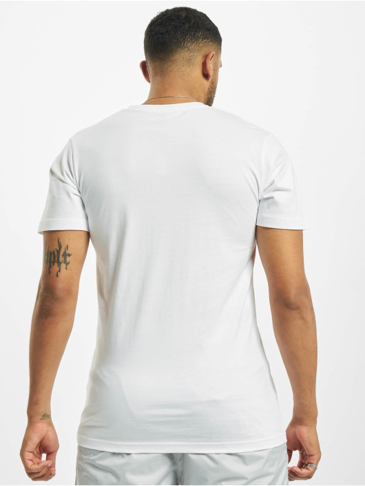 Mister Tee T-shirt The End bianco