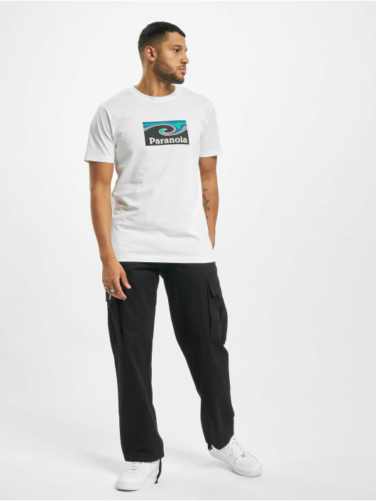 Mister Tee T-shirt Paranoia bianco