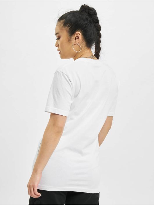 Mister Tee T-shirt Push It bianco