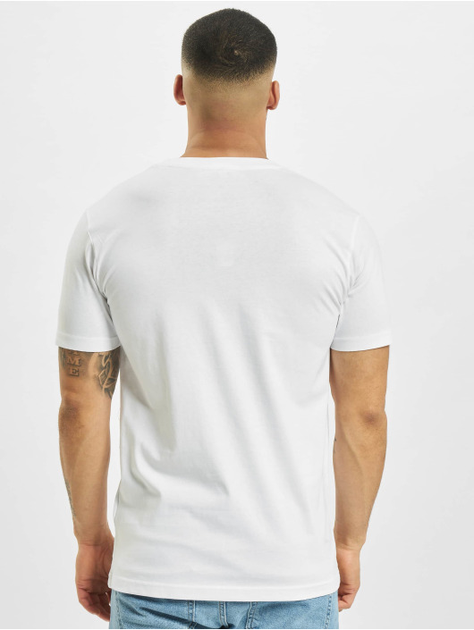 Mister Tee T-shirt Pizza Plant bianco