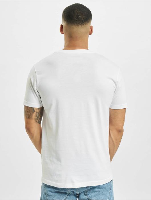 Mister Tee T-shirt Wish You Were Here bianco