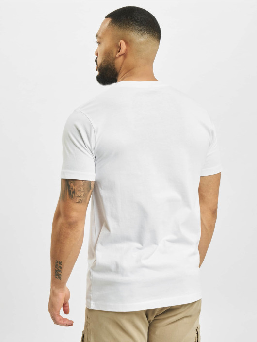Mister Tee T-shirt I Want To Be Alive bianco