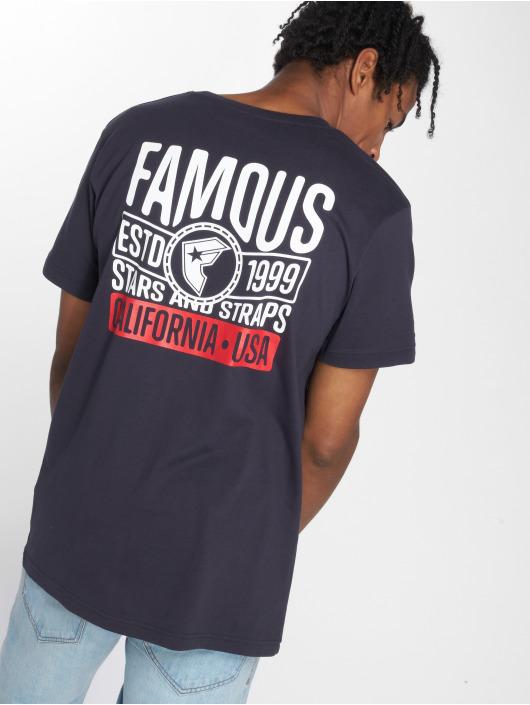 Mister Tee T-shirt Established blå