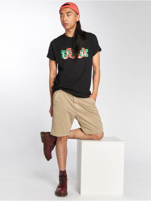 Mister Tee T-Shirt Snake Dreams black