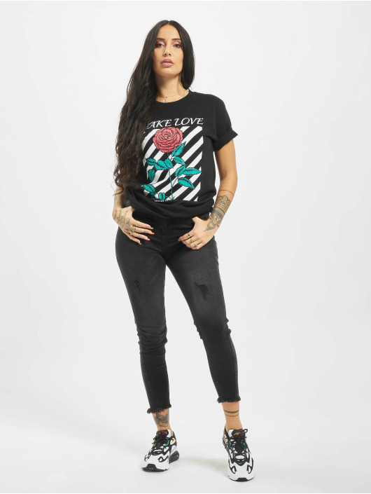 Mister Tee T-Shirt Make Love black