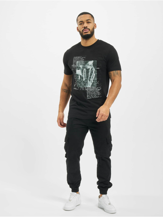 Mister Tee T-Shirt Tupac Lyrics black