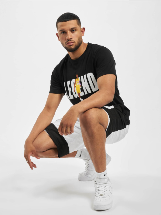 Mister Tee T-Shirt Basketball Player black