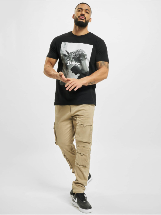 Mister Tee T-Shirt 2pac F*ck The World black