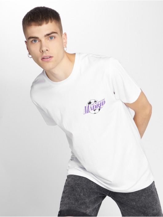 543264 Homme Blanc Mdrd T Tee shirt Mister bY6g7yf