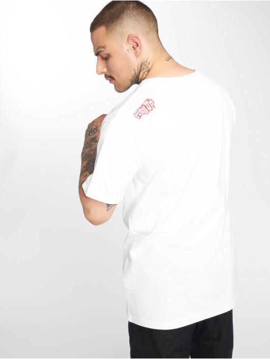 Mister Tee T-Shirt Stir Fry blanc