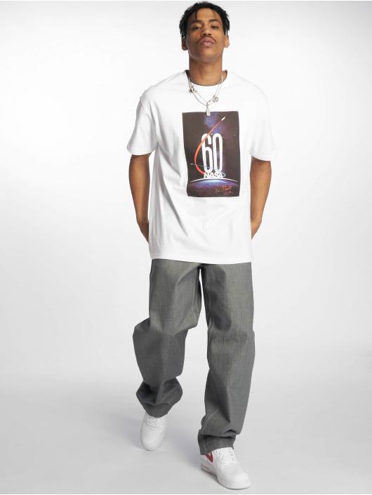 Mister Tee T-Shirt Nasa 60 Oversized blanc