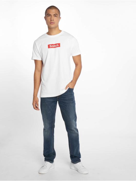 Mister Tee T-Shirt Snitch blanc