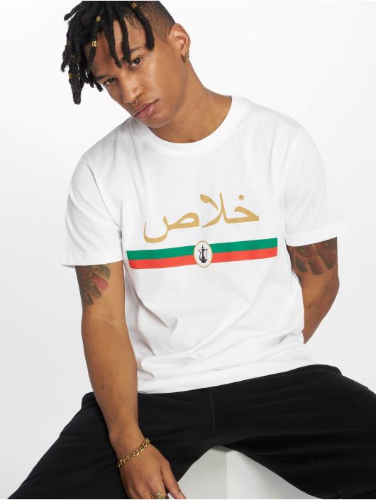 Mister Tee T-Shirt Khalas Tee blanc