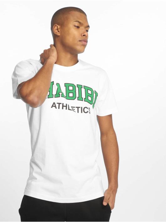 Mister Tee T-Shirt Habibi Atheltics blanc