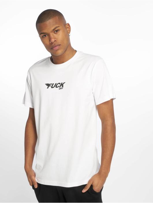 T 619365 Off Blanc shirt Fuck Mister Homme Tee tChQrxsd