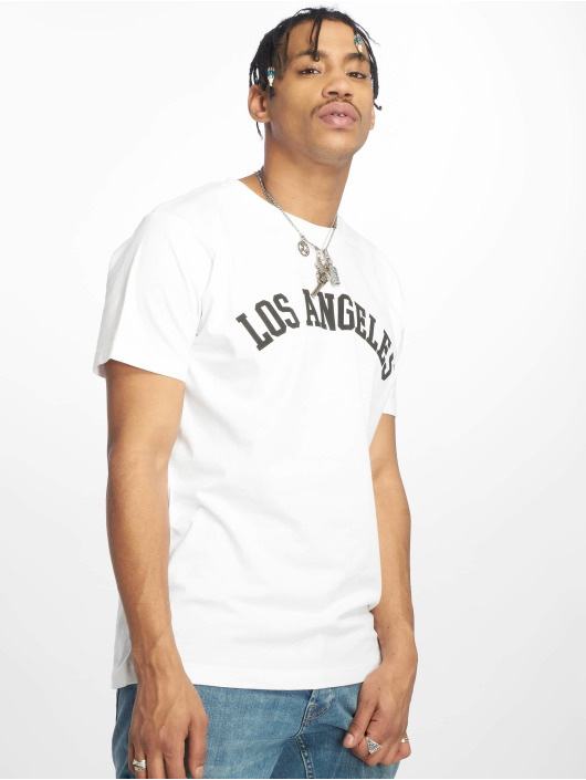 T shirt Angeles Blanc Los Mister Tee Homme 619402 nNm80w